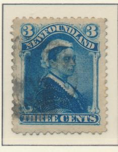 Newfoundland (Canada) Stamp Scott #49, Used - Free U.S. Shipping, Free Worldw...