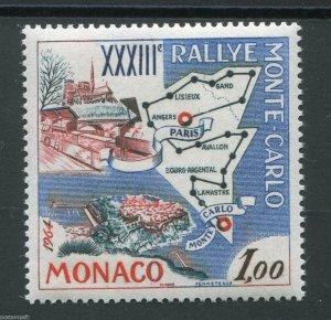 1963 Monaco 740 Sport, rally car