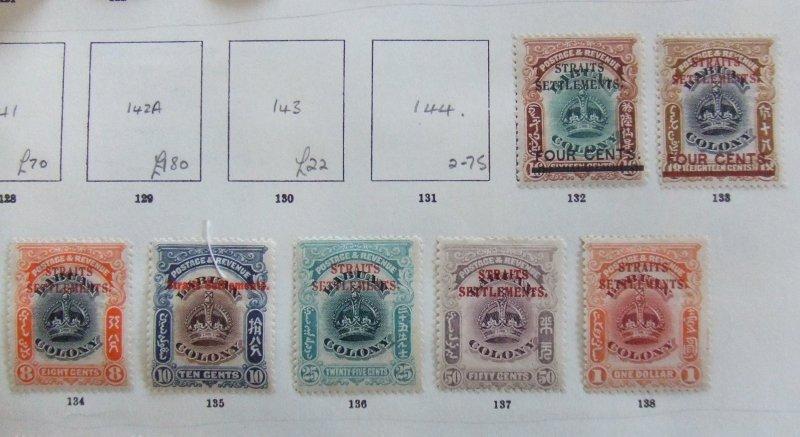 Straits EVII 1907 Labuan mint overprints to $1 #2