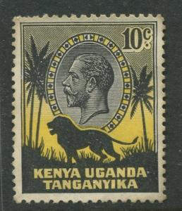 Kenya & Uganda - Scott 48- KGV Definitive -1935 - Mint - Single 10c Stamp