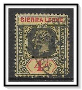 Sierra Leone #128 KG V Used