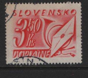 SLOVENIA J36 USED POSTAGE DUE