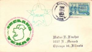 United States Texas Ireland 1949 4f-bar  1911-1967  Philatelic.