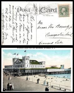 Goldpath: US postcard 1909, WILDWOOD, N.J.   _CV17_P2