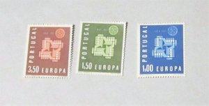 Portugal - 875-77, MNH Set. Europa. SCV - $3.25