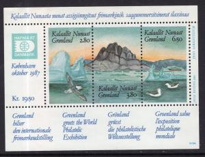 Greenland 175 Souvenir Sheet MNH VF