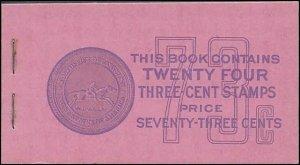 BK101 Mint,OG,NH... Booklet (8x807a)... SCV $700.00... PSE Cert