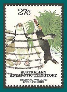AAT 1983 Royal Penguins, used L55d,SG58