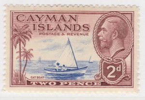 British Colony Cayman Islands 1935 2d MH* Stamp A22P19F8948