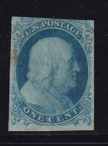 7 VF original gum previously hinged with nice color scv $ 1000 ! see pic !