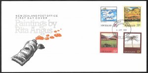 New Zealand First Day Cover [7804]