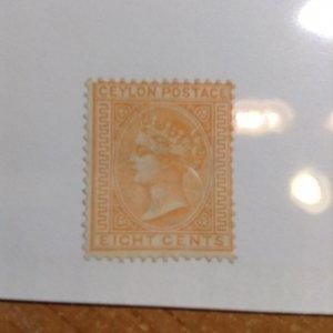 Ceylon  # 92  MH