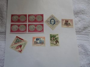 MONACO STAMPS LOT. 10 STAMPS. # 18