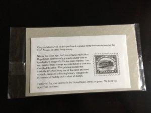 Unused US Stamp in USPS Sealed Package Commemorative inverted Jenny Scott 4806