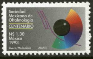 MEXICO 1811 Centenary of the Society of Ophtalmologists MINT, NH. NF.