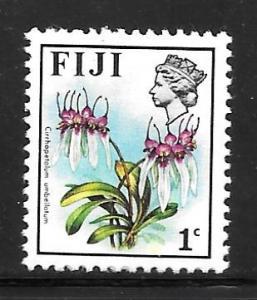 Fiji 305: 1c Cirrhopetalum umbellatum, MH, VF