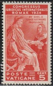 Vatican City #41 MNH Single Stamp cv $4.50