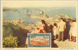 57416 -  BRAZIL - POSTAL HISTORY: MAXIMUM CARD 1959 -  NATURE View