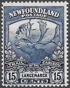 Newfoundland Scott Number 124 F H