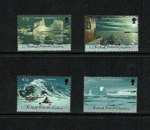 British Antarctic Territory: 2000 Antarctic Symphony, Maxwell Davis, MNH set
