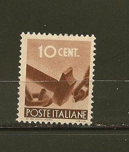 Italy 463 Breaking Chain Mint Hinged