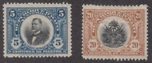 Haiti - 1915-16 - SC See note after 218 - H