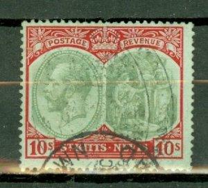 St Kitts Nevis 35 used CV $52.50