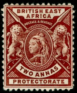 BRITISH EAST AFRICA SG67, 2a chocolate, M MINT. Cat £14.