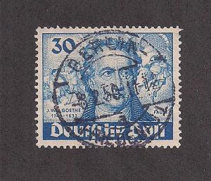 GERMANY SC# 9N63 F-VF U 1949