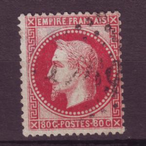 J12347 JLstamps 1863-7 france used #36 napoleon
