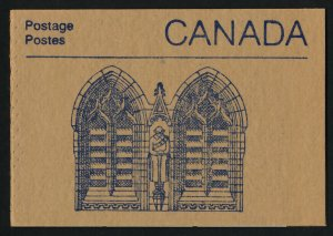 Canada 1187a Booklet BK96a War Memorial Cover MNH Parliament Buildings