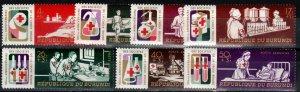 Burundi #B34-7, CB9-11 MNH CV $5.55 (X8378)