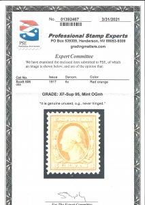 506 Mint,OG,NH... PSE graded XF/Superb 95... SMQ $175.00