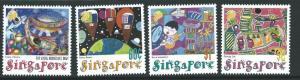 SINGAPORE SG1055/8 2000 STAMPIN THE FUTURE  MNH