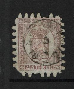 Finland SC# 12, Used, Few Pulled Teeth - Lot 100117