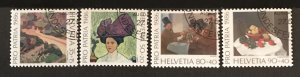 Switzerland 1986 #B523-26, Used, CV $1.35
