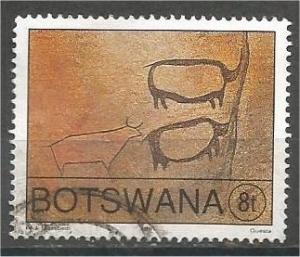 BOTSWANA, 1991, used 8t, Petroglyphs Scott 490