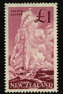 NEW ZEALAND 1960 £1 geyser MNH.............................................23040