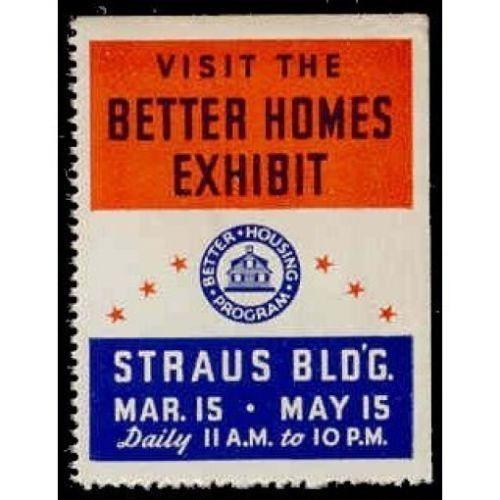 VISIT THE BETTER HOMES EXHIBIT Poster Stamp