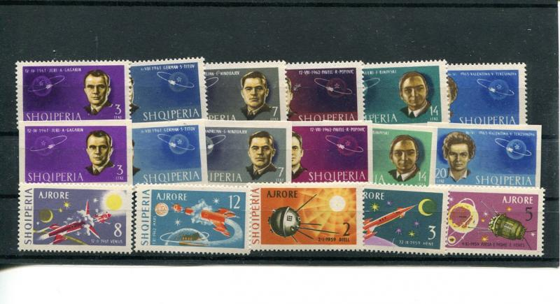Albania Space Exploration  Mint NH