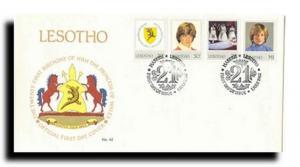 Lesotho Scott 372-375