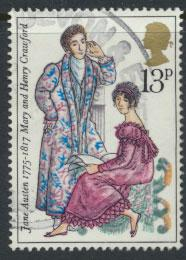 Great Britain SG 992  -  Used -  Writer Jane Austin