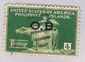 Philippines Statue overprint (AP120120) ...