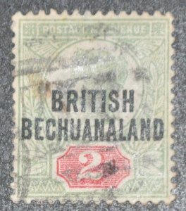 DYNAMITE Stamps: Bechuanaland Scott #34 – USED