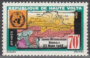 Burkina Faso #107 MNH F-VF (SU6749)