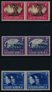 South Africa 100-2 MNH Victory, Peace, Animals