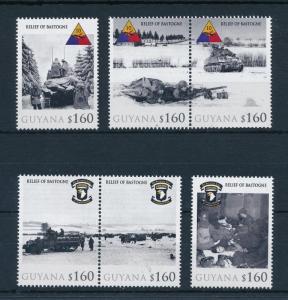 [81080] Guyana 2010 Second World war Relief of Bastogne Ardennes offensive MNH