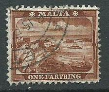 Malta SG 45 Red Brown tiny tone spot