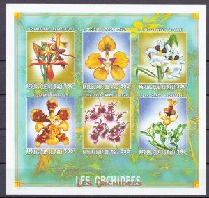 Mali. 1999. 2386B-91B. Orchid flora. MNH.