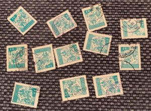 174 Yugoslavia - Collector or Dealer Stock 12 stamps